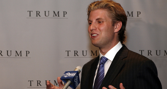 Rising Star of the Year Eric Trump
